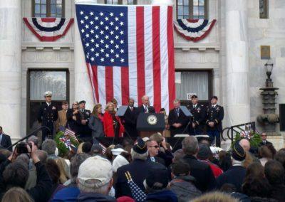 Veteran's Day Parade with Vice President Joe Biden