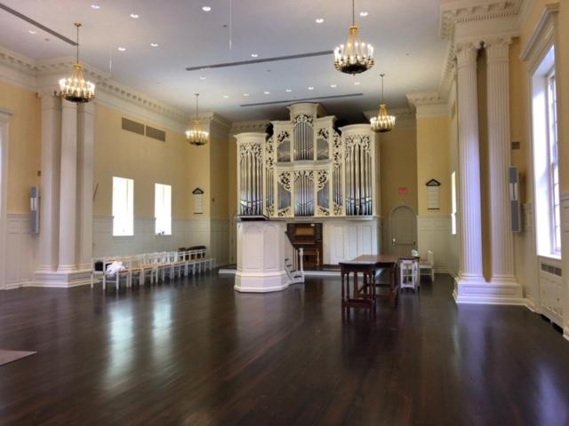 Princeton Theological Seminary upgrade